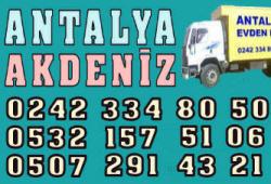 Antalya Akdeniz Evden Eve Nakliyat
