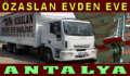 Antalya Özaslan Evden Eve Nakliyat
