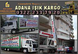 Adana Işık Kargo Asansörlü Evden Eve