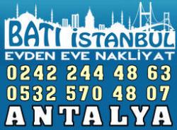 Batı Antalya Evden Eve Nakliyat
